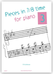 Pieces in 7/8 time for piano 3