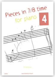 Pieces in 7/8 time for piano 4