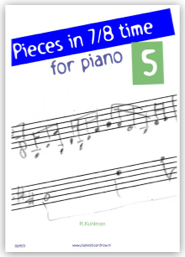 Pieces in 7/8 time for piano 5