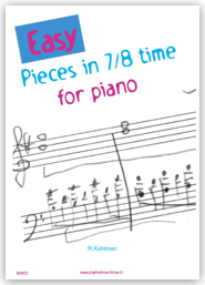 Easy Pieces in 7/8 time for piano