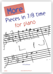 More Pieces in 7/8 time for piano